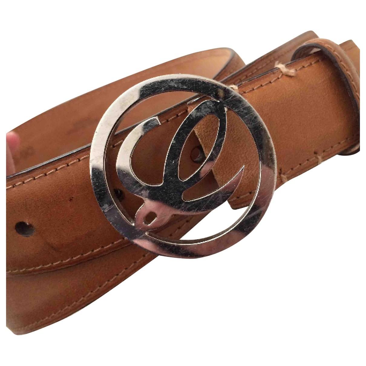 Loewe \N Orange Leather belt for Women S International