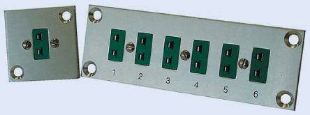 Reckmann Thermocouple Connector Panel for use with Type K Thermocouple Type K, Standard