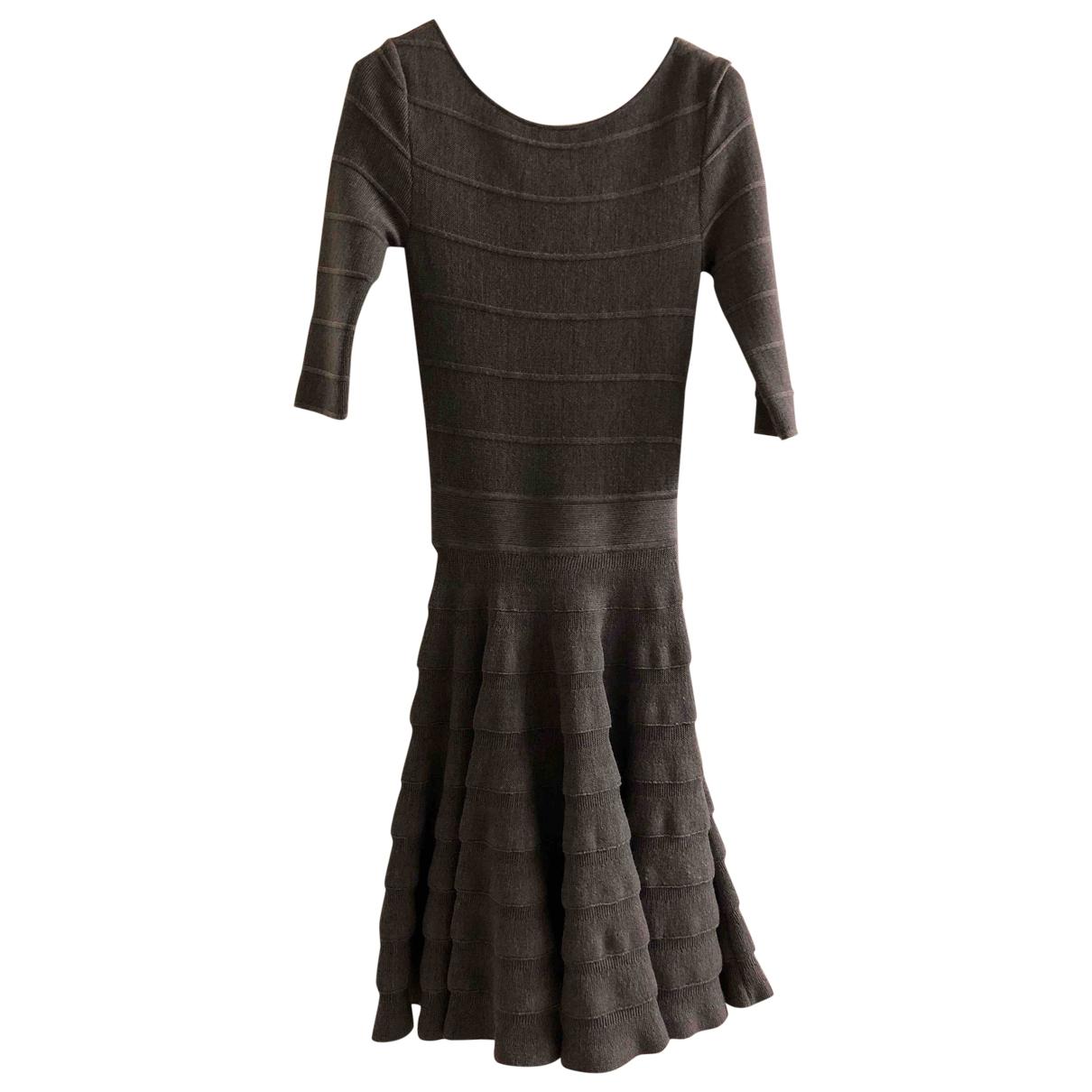 Dior \N Grey Wool dress for Women 40 IT