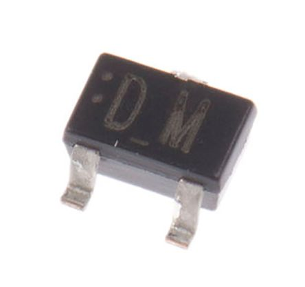 Panasonic N-Channel MOSFET, 2 A, 20 V, 3-Pin SMini3-G1-B  MTM232270LBF (20)