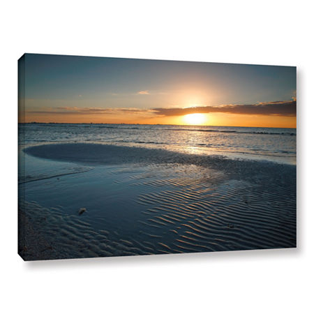 Brushstone Sanibel Sunrise II Gallery Wrapped Canvas Wall Art, One Size , Blue