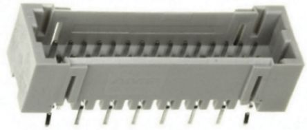 TE Connectivity , AMP Mini CT, 32 Way, 2 Row, Straight PCB Header (5)