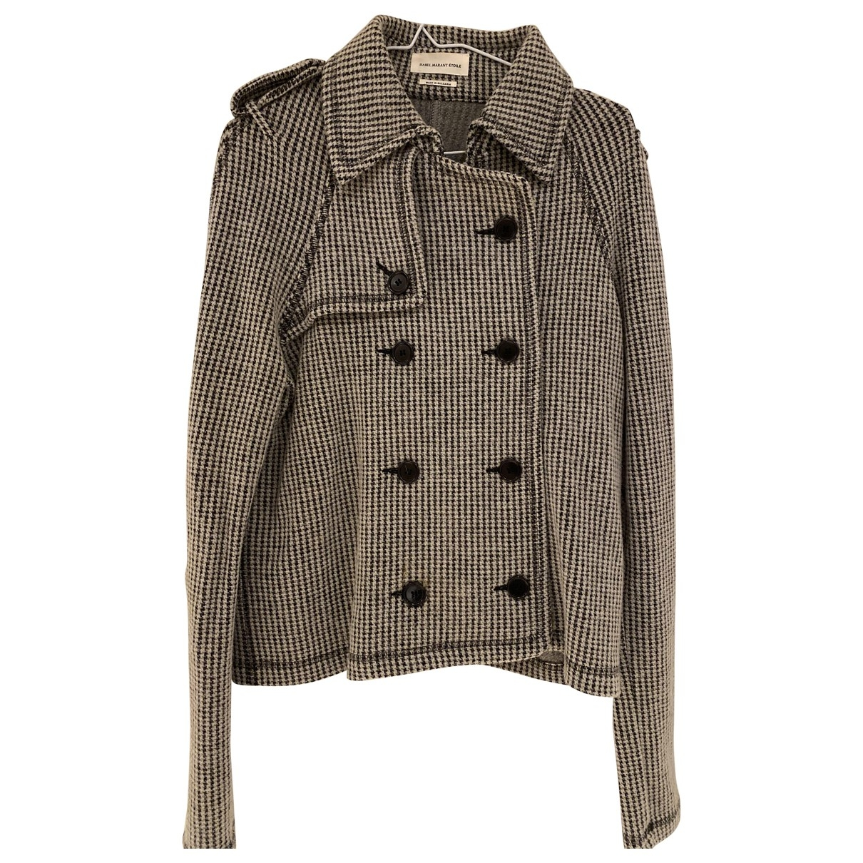 Isabel Marant Etoile \N Grey Wool jacket for Women 42 FR