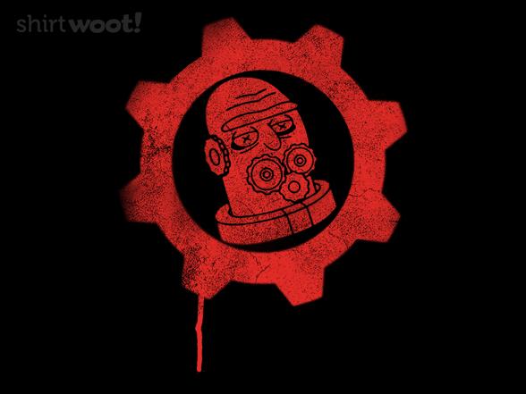 Gearheads Of War T Shirt