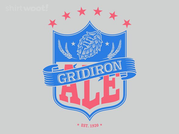 Gridiron Ale T Shirt