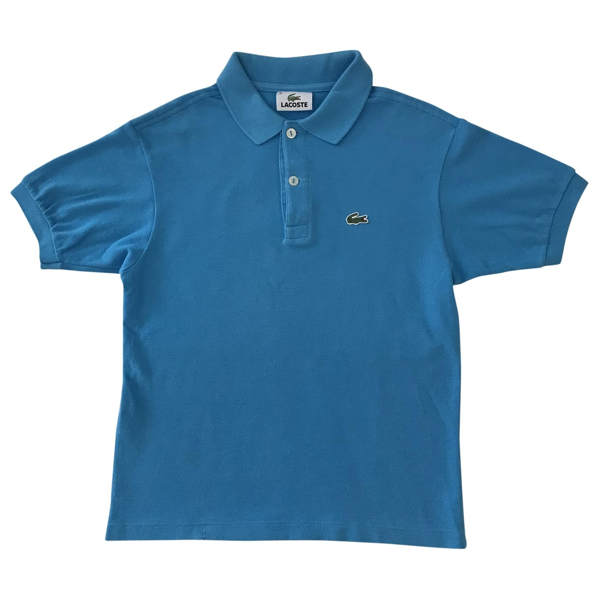 Lacoste \N Turquoise Cotton Knitwear for Kids 10 years - up to 142cm FR
