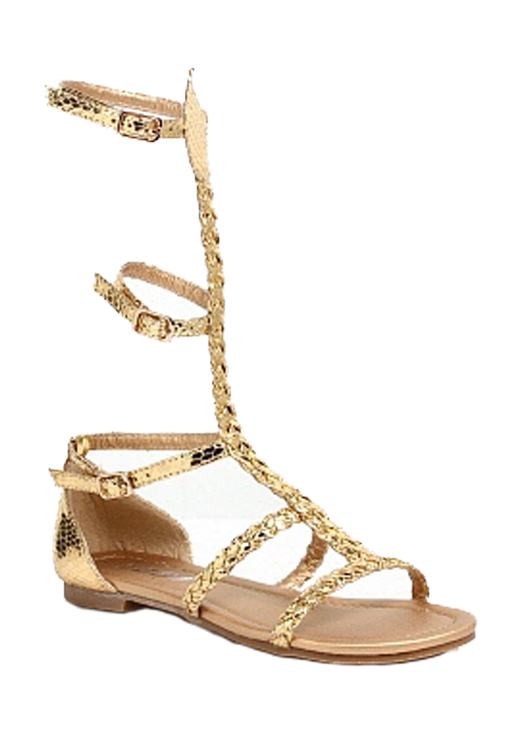 Egyptian Gold Child Costume Sandals