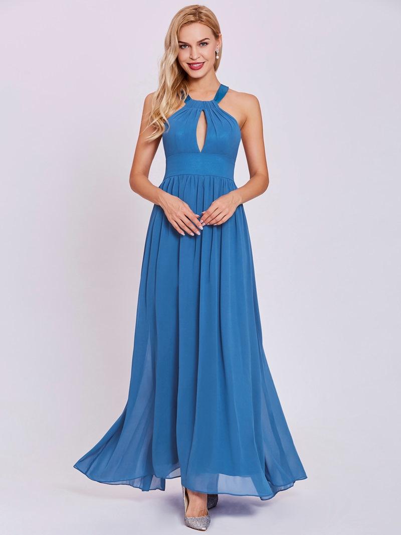 Ericdress Halter Neck A Line Evening Dress