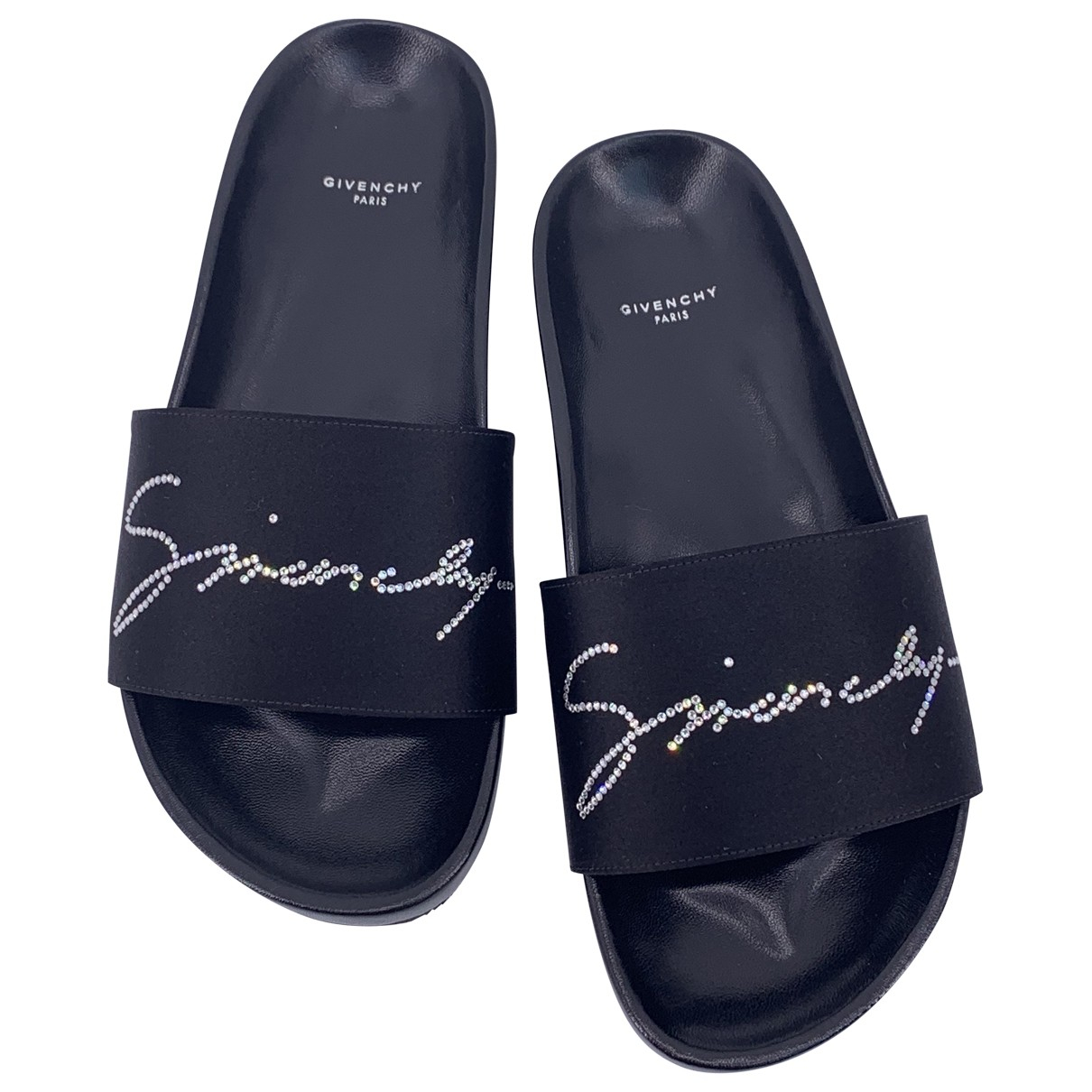 Givenchy \N Black Rubber Sandals for Women 37 EU
