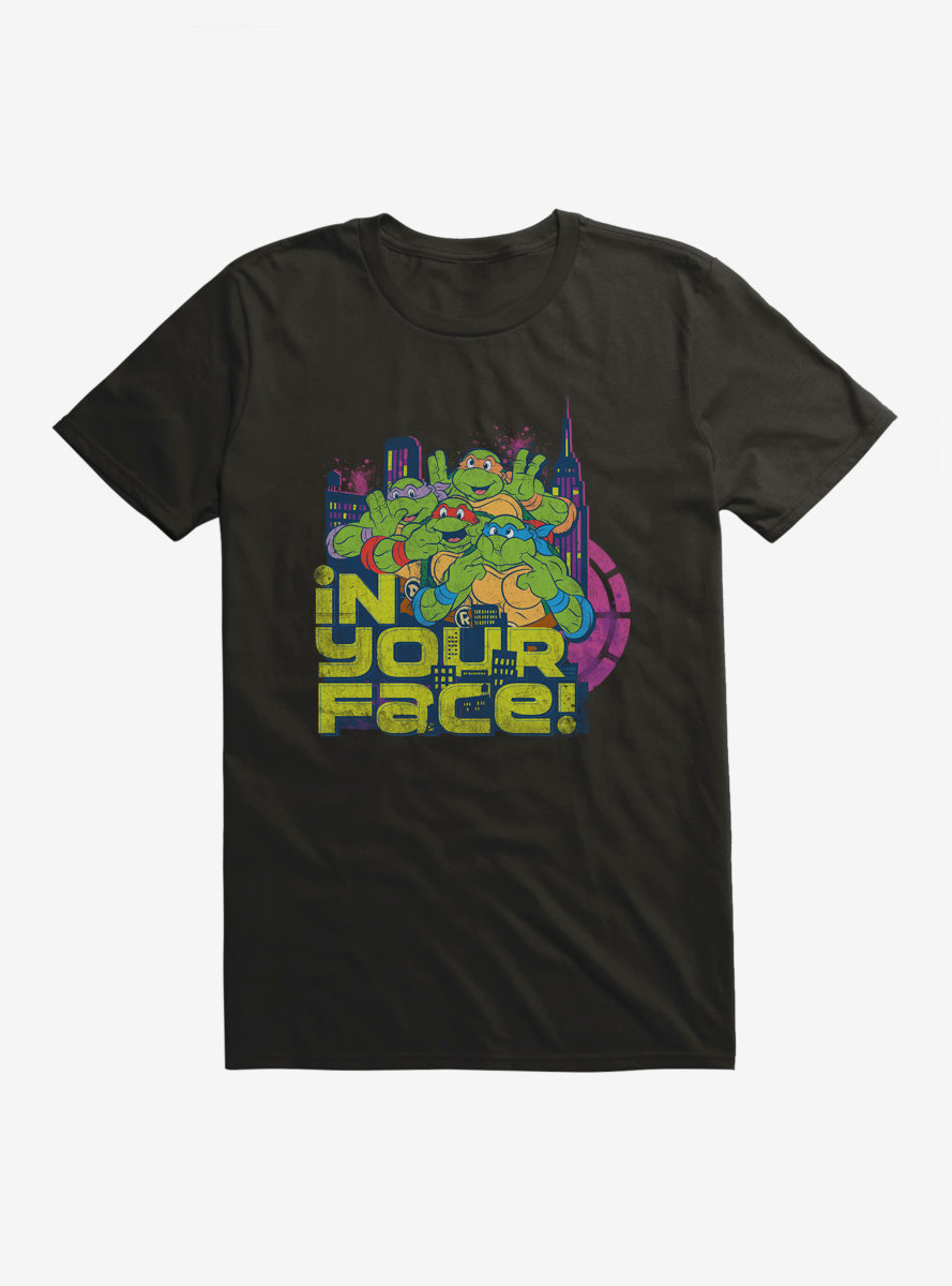 Teenage Mutant Ninja Turtles In Your Face T-Shirt