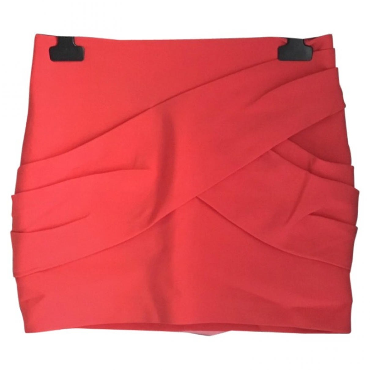 Maje \N Pink Cotton - elasthane skirt for Women 36 FR