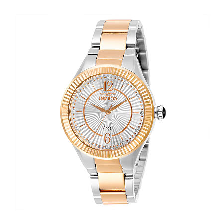 Invicta Angel Womens Two Tone Stainless Steel Bracelet Watch-28343, One Size , No Color Family