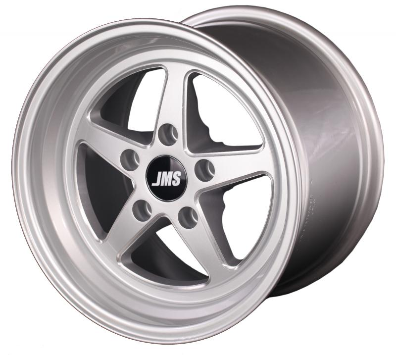 JMS 17 X 10 Rear Wheel w/ Lug Nuts; Fits 2006-2021 Dodge Challenger and Charger Dodge