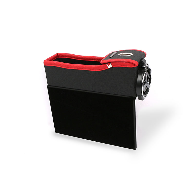 Car Seat Storage Box Gap Storage Box Bag Box Vehicle-Mounted Multi-Functional Leather Water Cup Holder