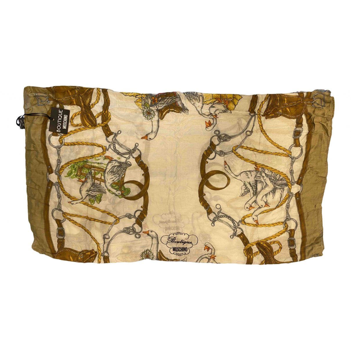 Moschino \N Camel Cashmere scarf for Women \N