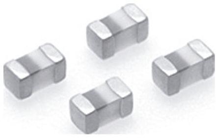 TDK 82 nH ±5% Multilayer SMD Inductor, 0402 (1005M) Case, SRF: 1GHz Q: 8 200mA dc 1.6Ω Rdc (10)