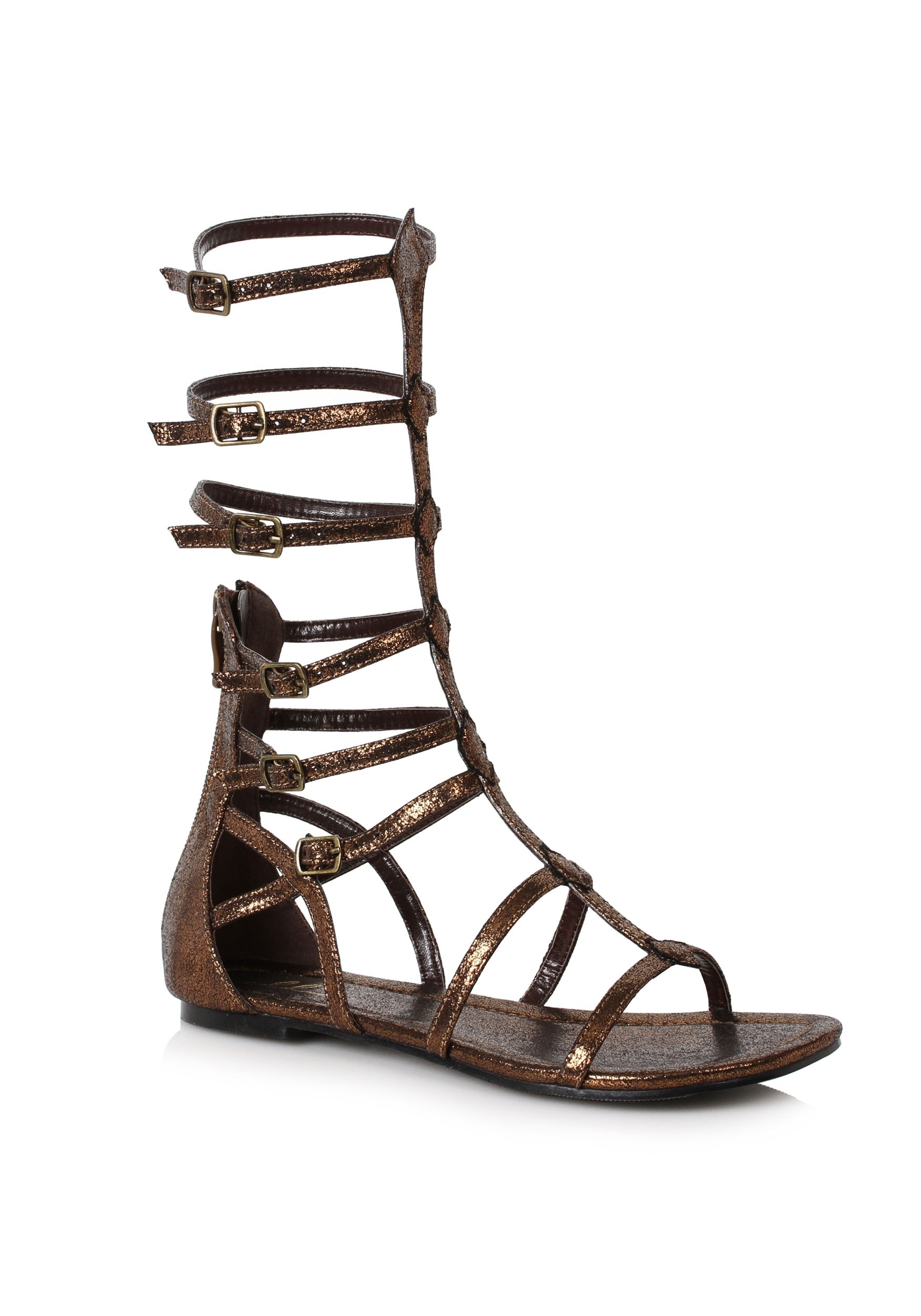 Bronze Warrior Sandals for Adults