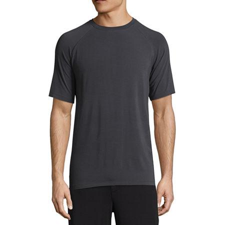 MSX By Michael Strahan Men's Knit Pajama Top, Medium , Black