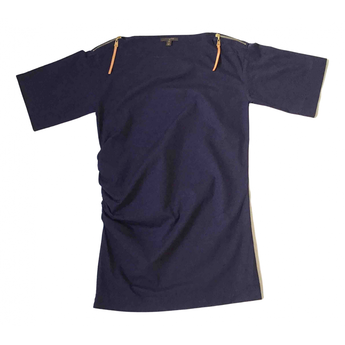 Louis Vuitton \N Navy Cotton dress for Women 36 IT