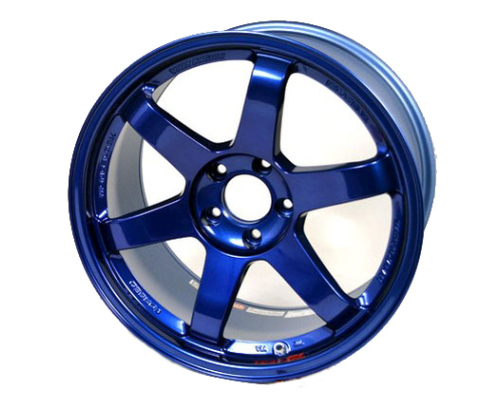 Volk Racing WVD622WPE TE37 SL Wheel 19x10.5 5x120 22mm Hyper Blue