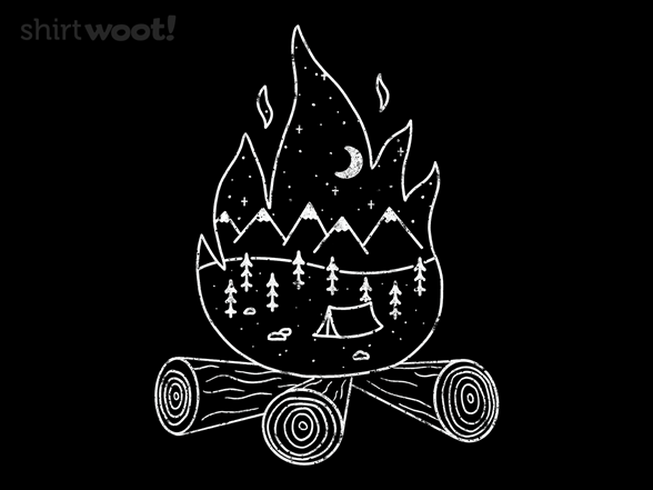 Campfire Dreams T Shirt