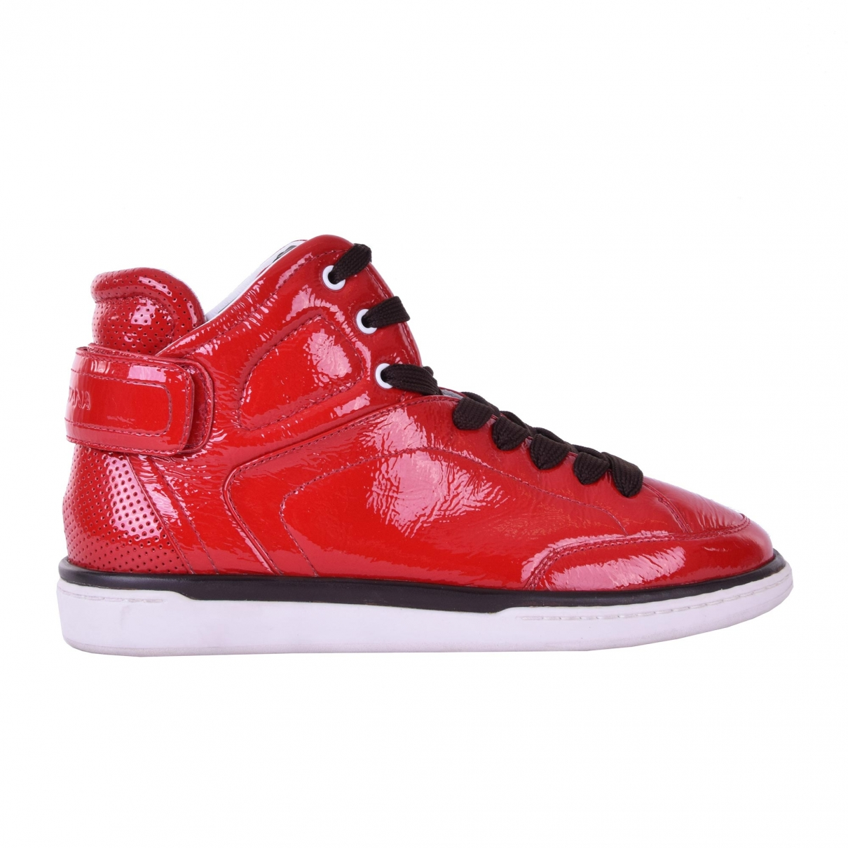 Dolce & Gabbana \N Red Patent leather Trainers for Men 40.5 EU
