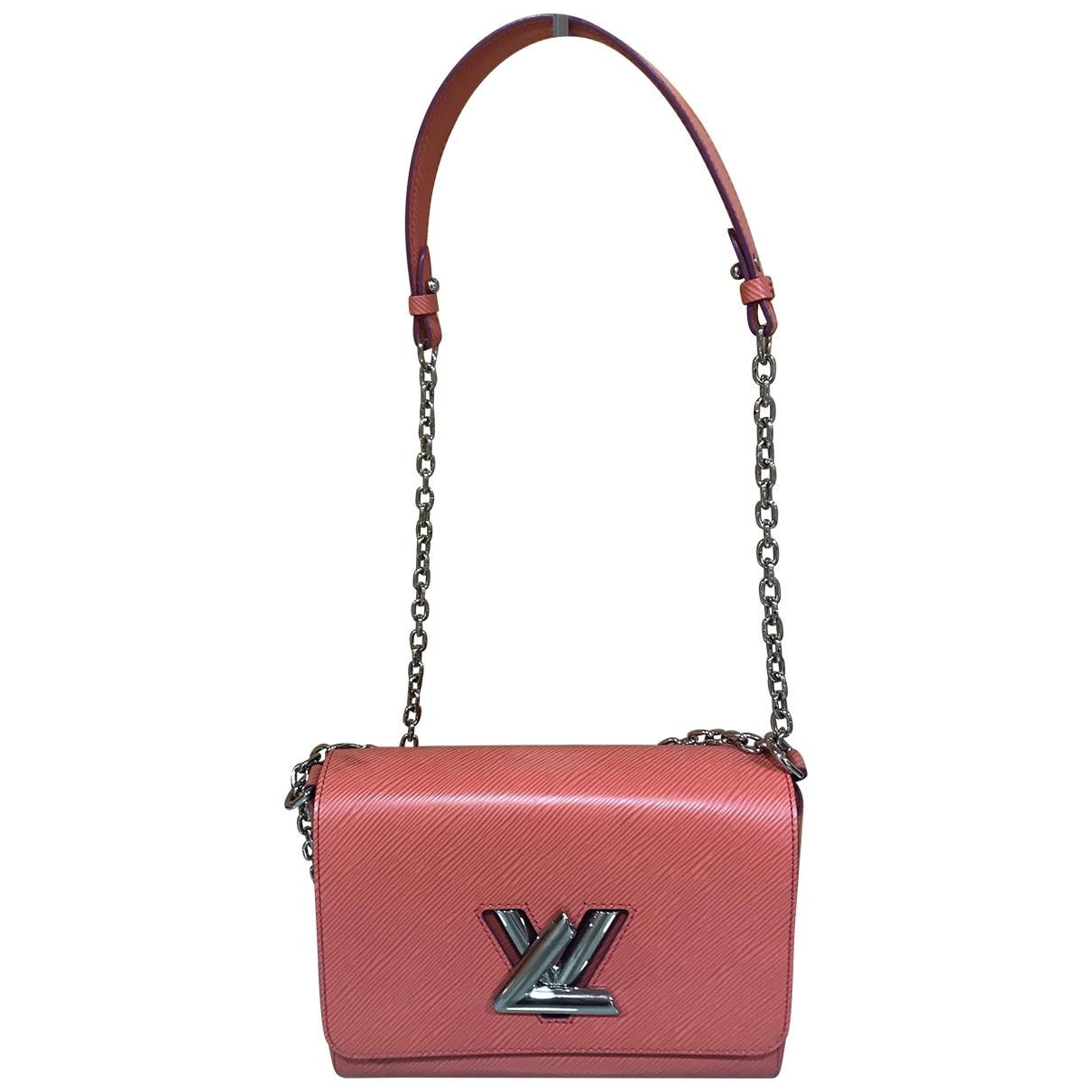 Louis Vuitton Twist Red Leather handbag for Women \N