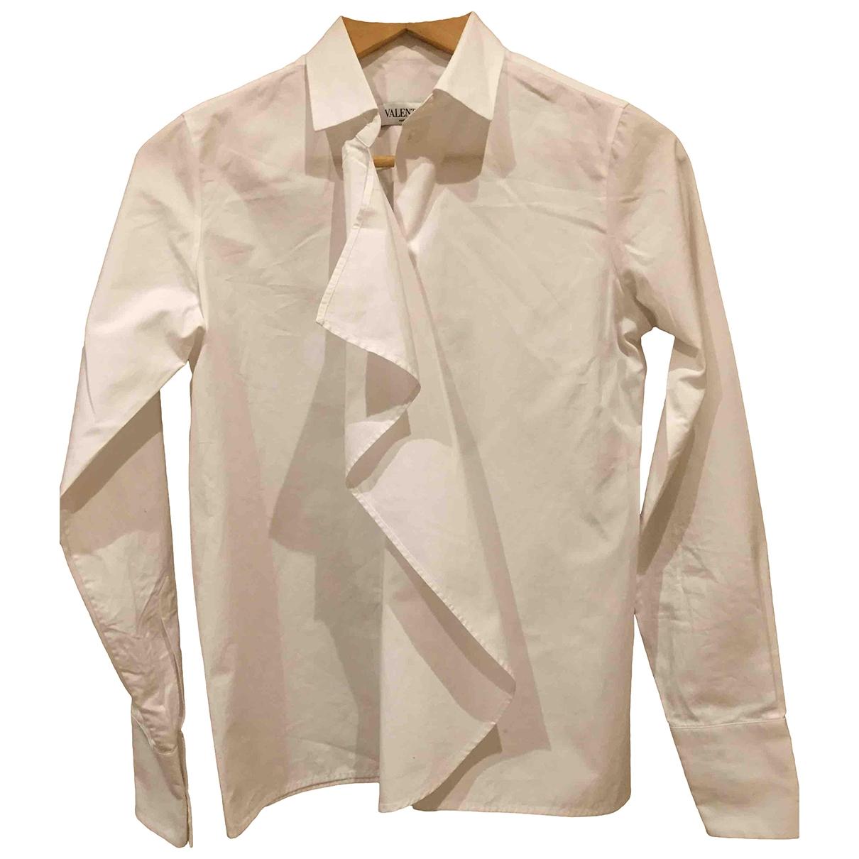 Valentino Garavani \N White Cotton  top for Women 40 IT