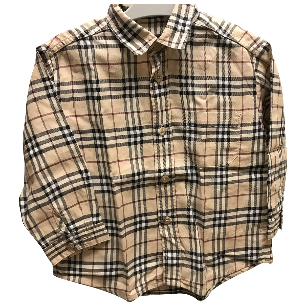 Burberry \N Beige Cotton  top for Kids 12 months - up to 74cm FR