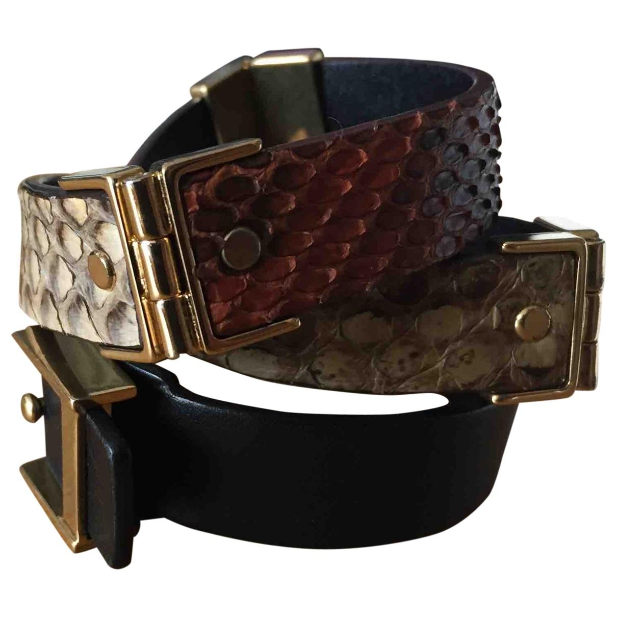 Celine \N Multicolour Leather bracelet for Women \N