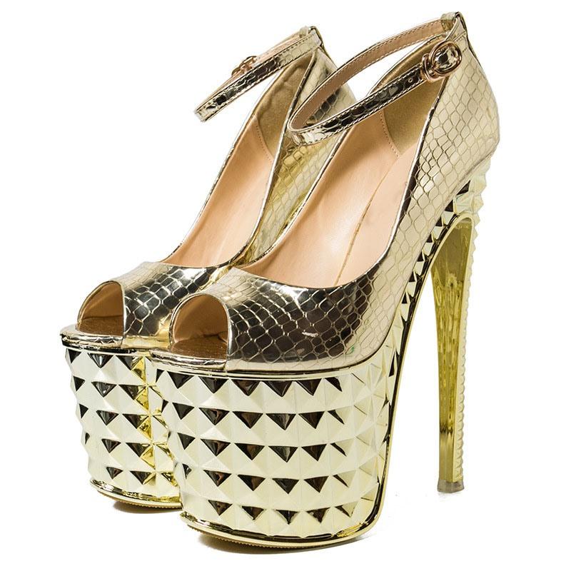 Ericdress Thread Line-Style Buckle Plain Stiletto Sandals