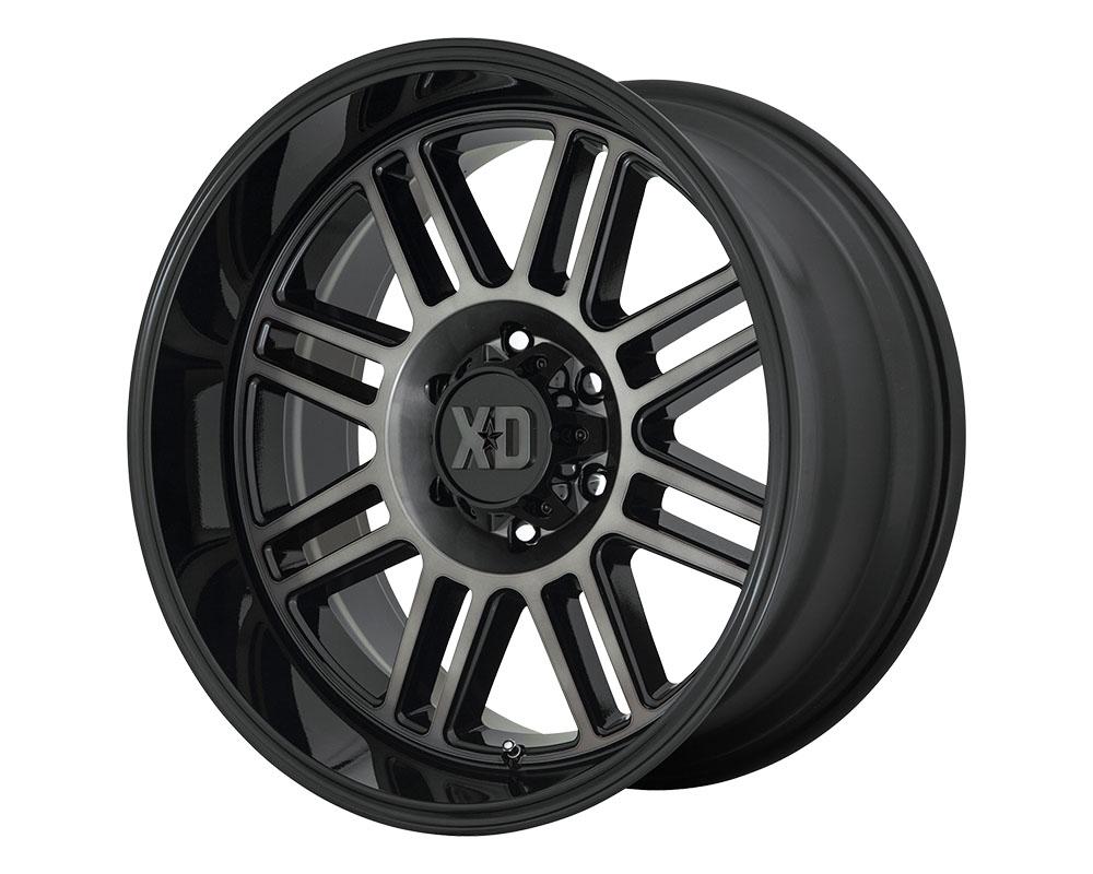XD Series XD85021088418N XD850 Cage Wheel 20x10 8x8x180 -18mm Gloss Black w/Gray Tint