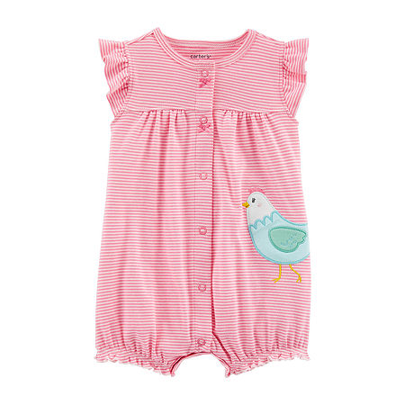 Carter's Baby Girls Baby Creeper, 18 Months , Multiple Colors