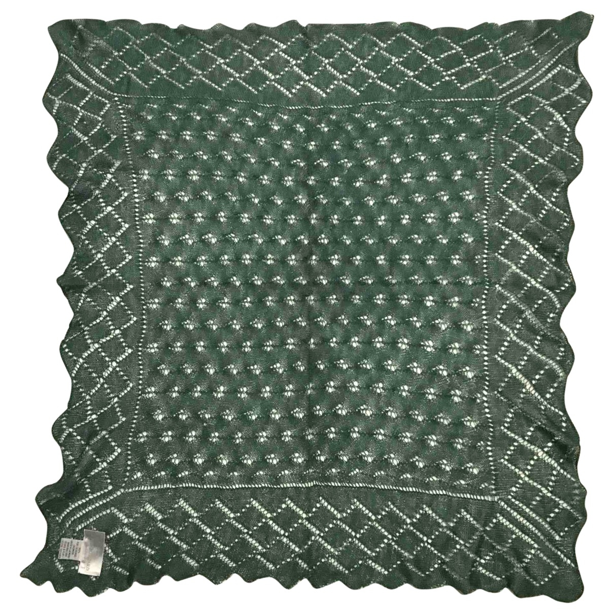 Eric Bompard \N Green Cashmere scarf for Women \N