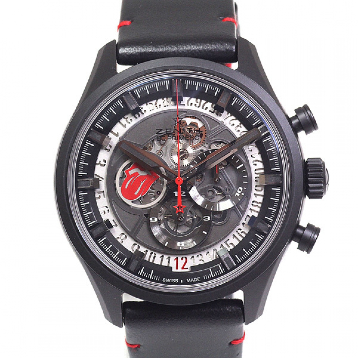 Zenith El Primero  Black Ceramic watch for Men \N