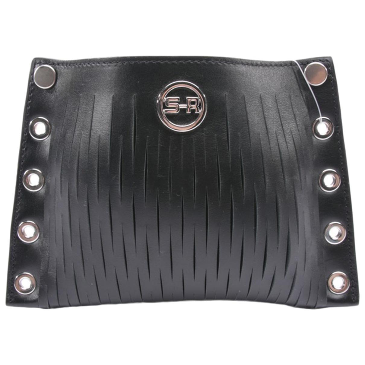 Sonia Rykiel \N Black Leather Clutch bag for Women \N