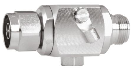Telegartner J01028A Series 90 V Maximum Voltage Rating Type N Arrester, Panel Mount Mounting
