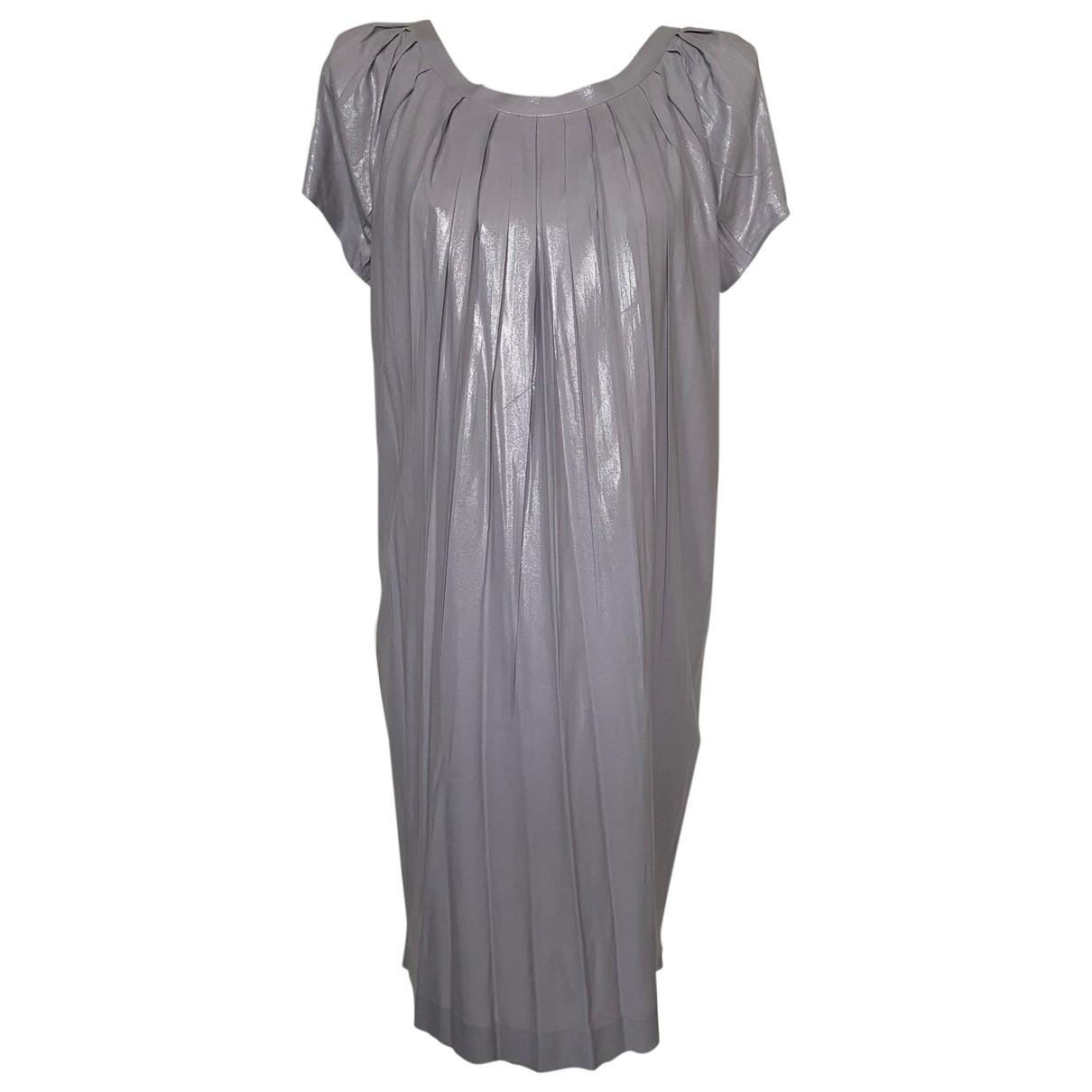 Alberta Ferretti \N Silver dress for Women 36 FR
