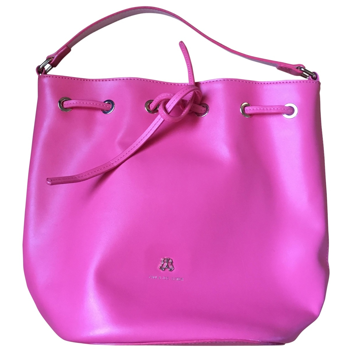 Paul & Joe Sister \N Pink Leather handbag for Women \N