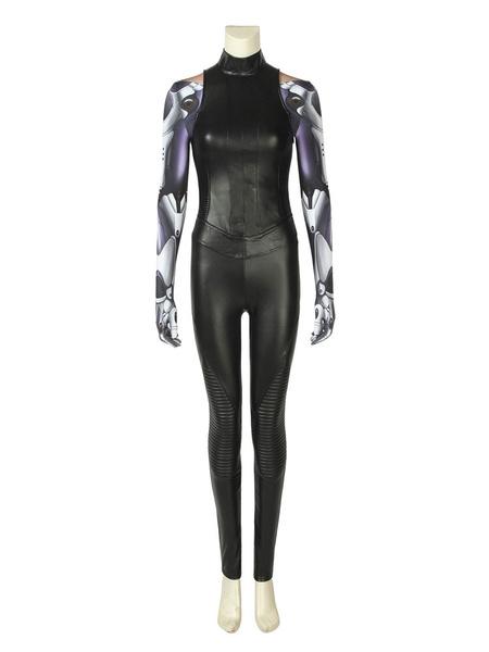 Milanoo Alita Battle Angel Long Sleeve Women Set Halloween 2020 Cosplay Cosrume