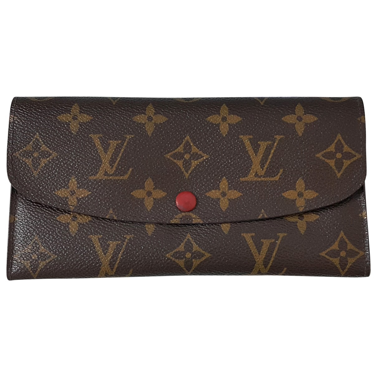 Louis Vuitton Emilie Red Cloth wallet for Women \N