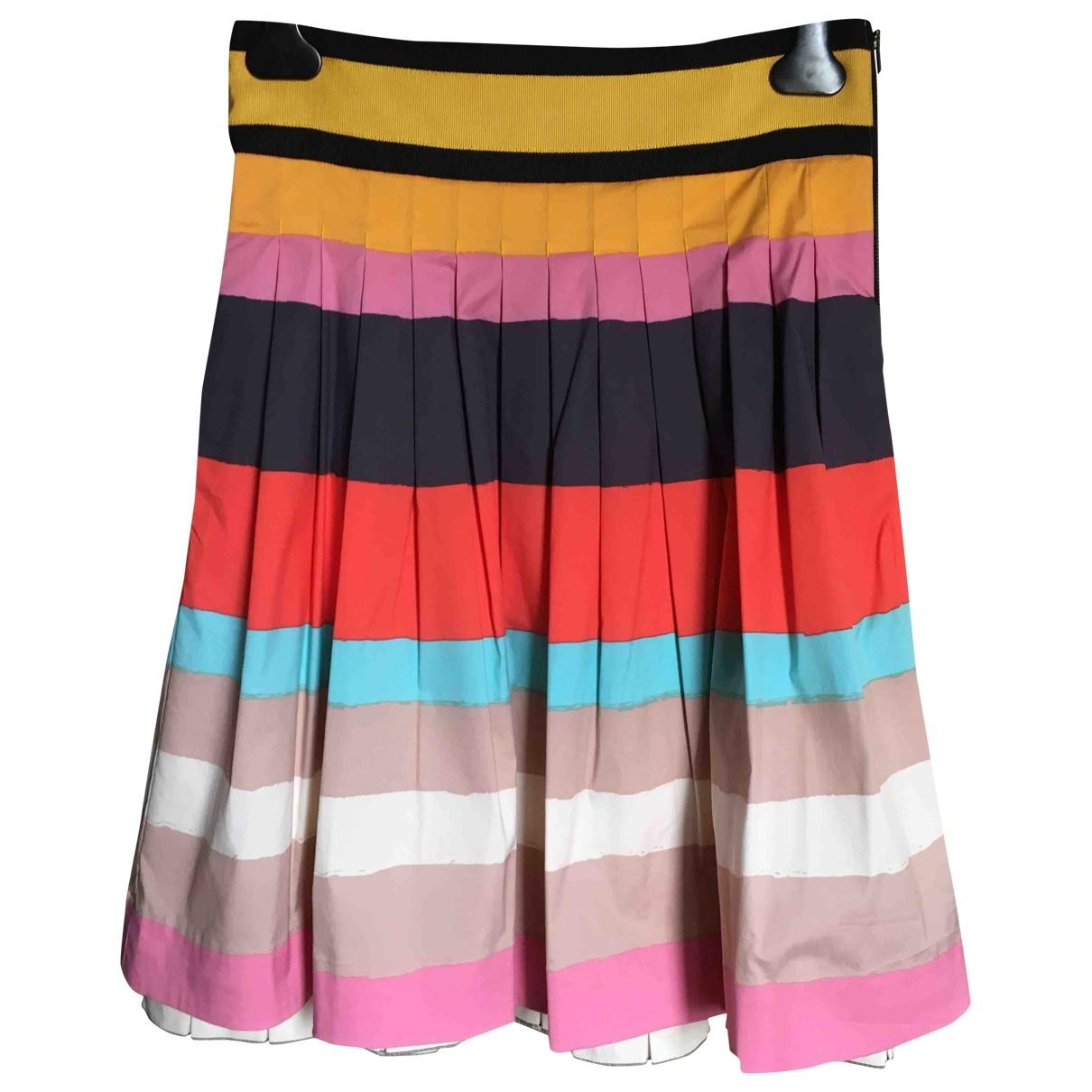 Diane Von Furstenberg \N Multicolour Cotton skirt for Women 8 US