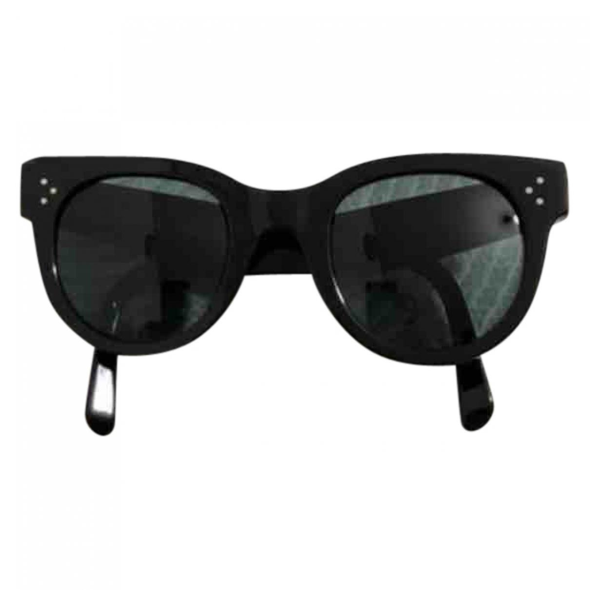 Celine New Audrey Black Sunglasses for Women \N