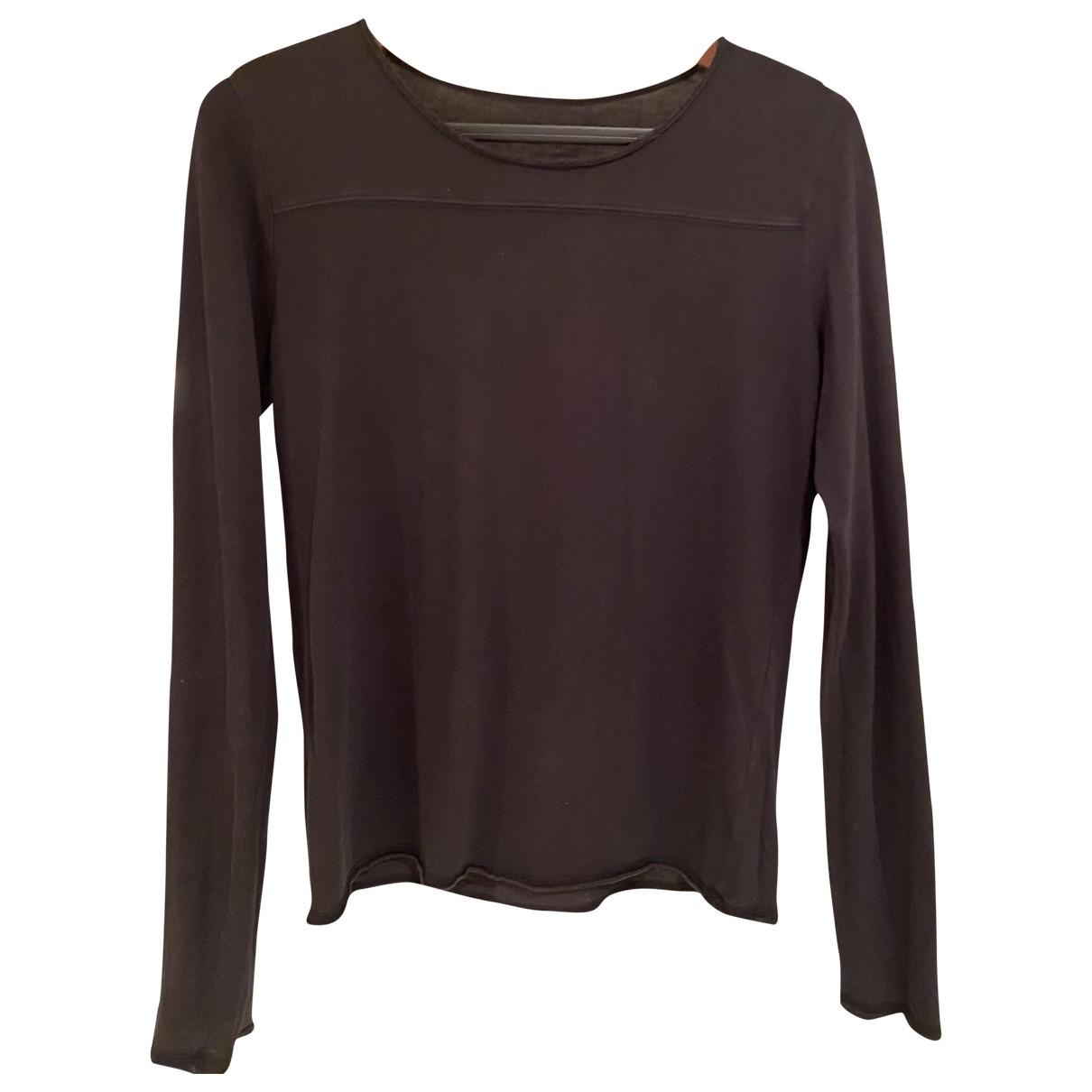 Zadig & Voltaire \N Black Cotton  top for Women 36 FR