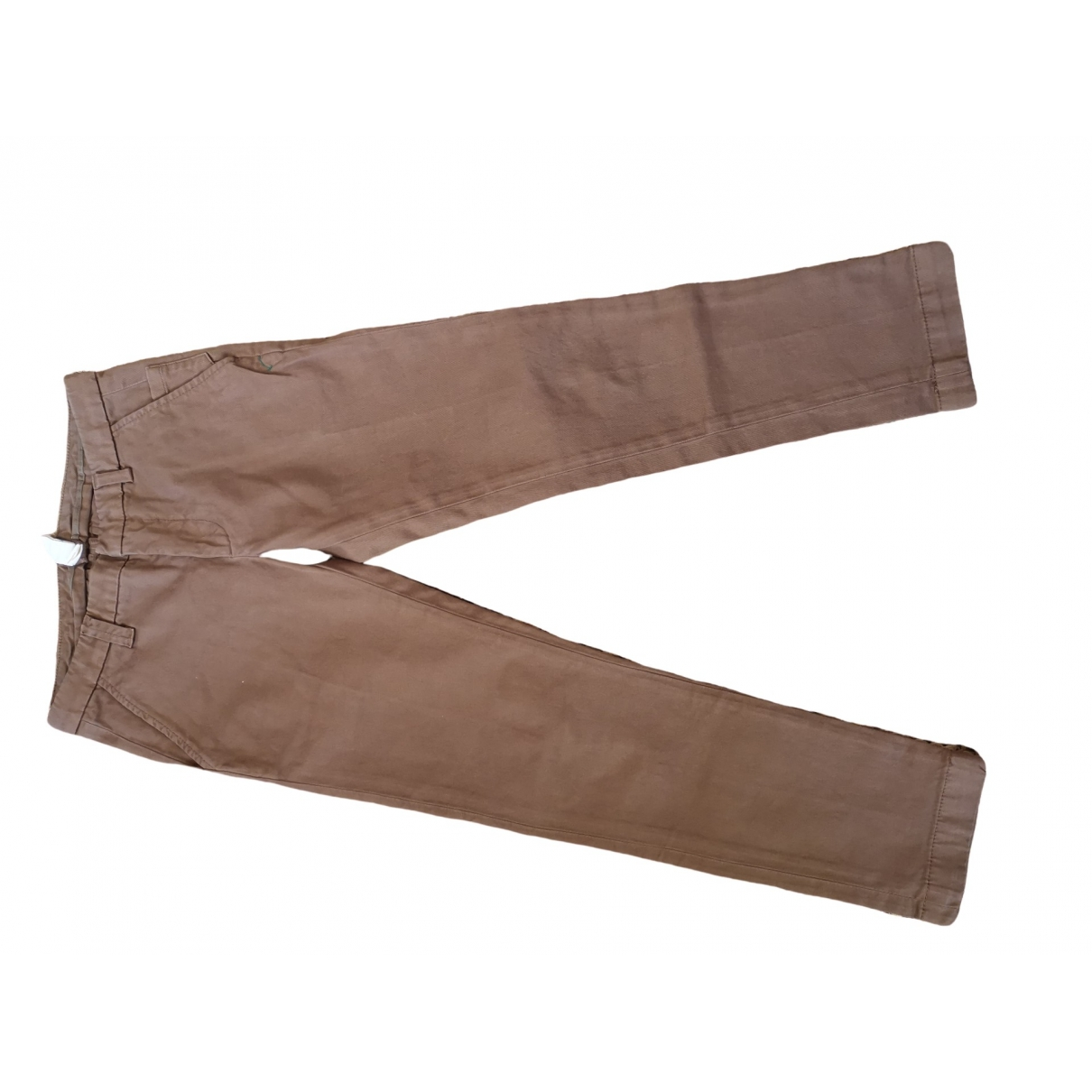 Dondup \N Brown Cotton Trousers for Kids 10 years - up to 142cm FR