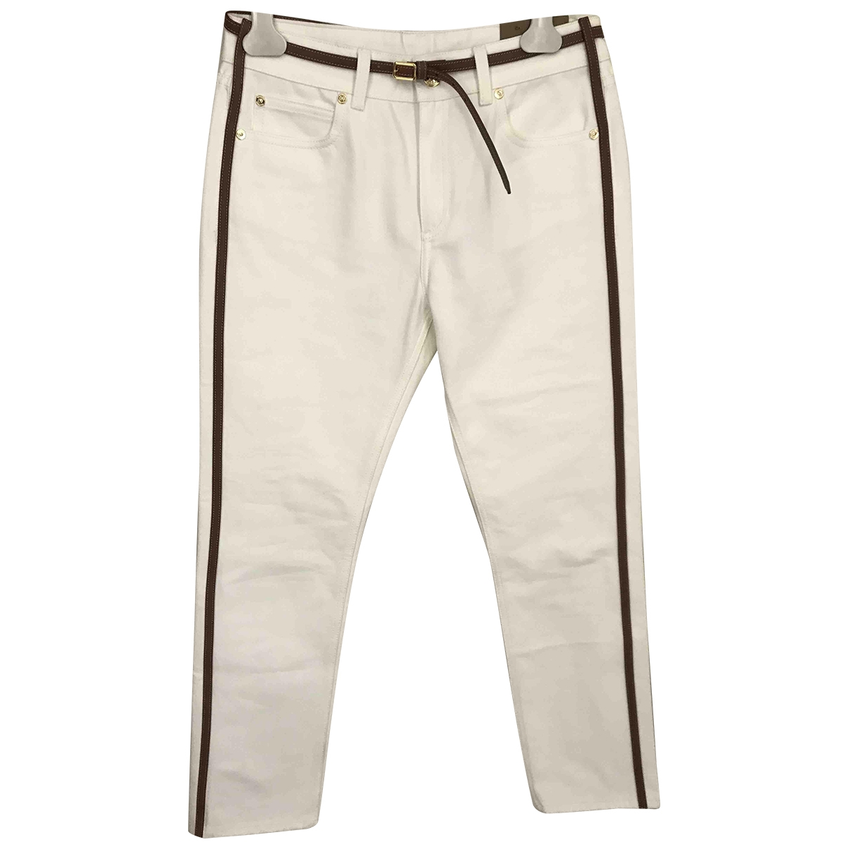Burberry \N White Cotton Jeans for Women 27 US