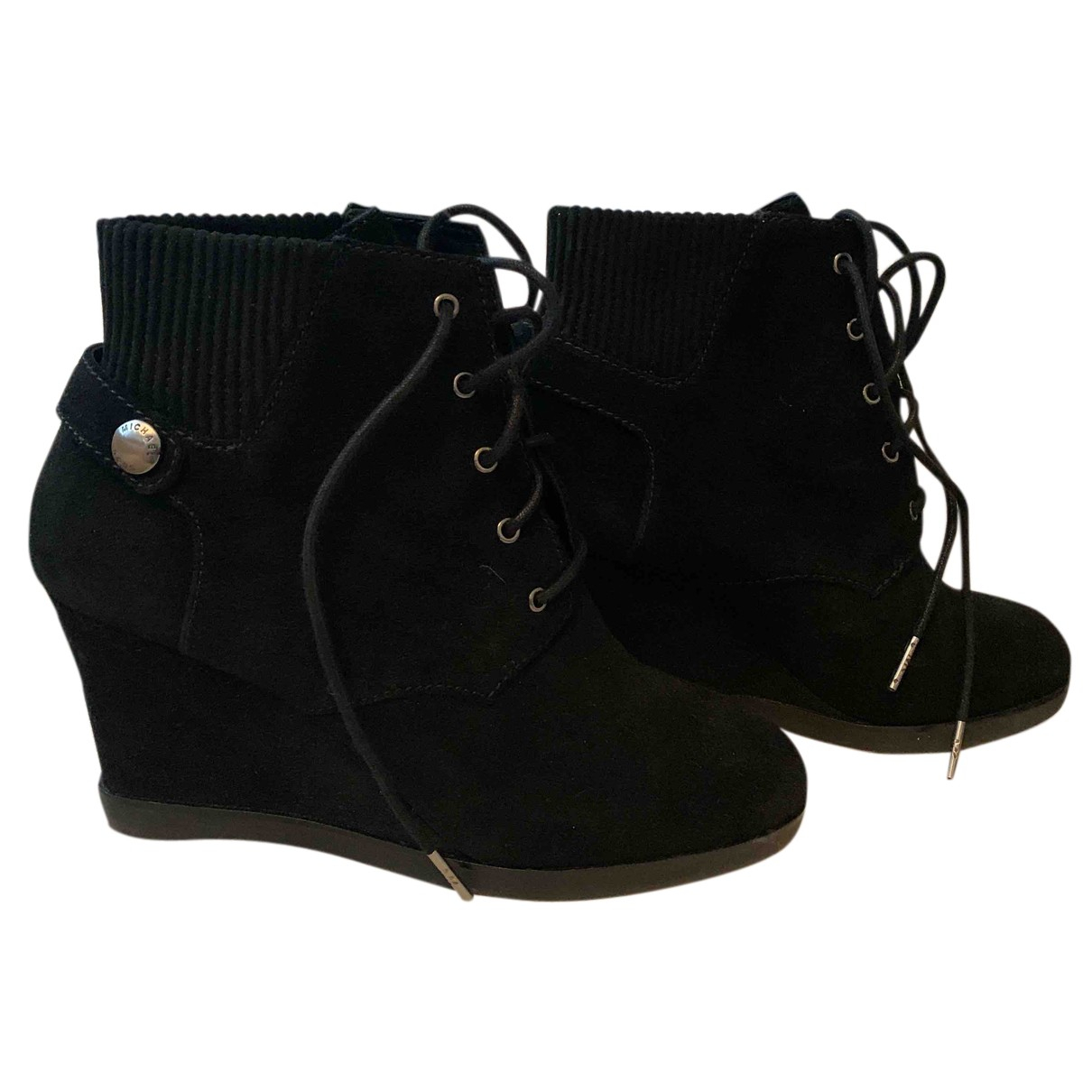 Kors Michael Kors N Black Suede Ankle boots for Women 39 EU