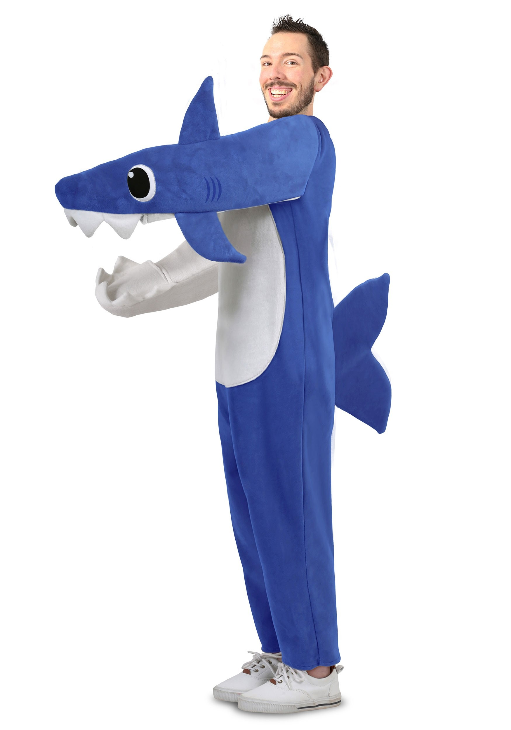 Daddy Shark Deluxe Adult Costume For Men