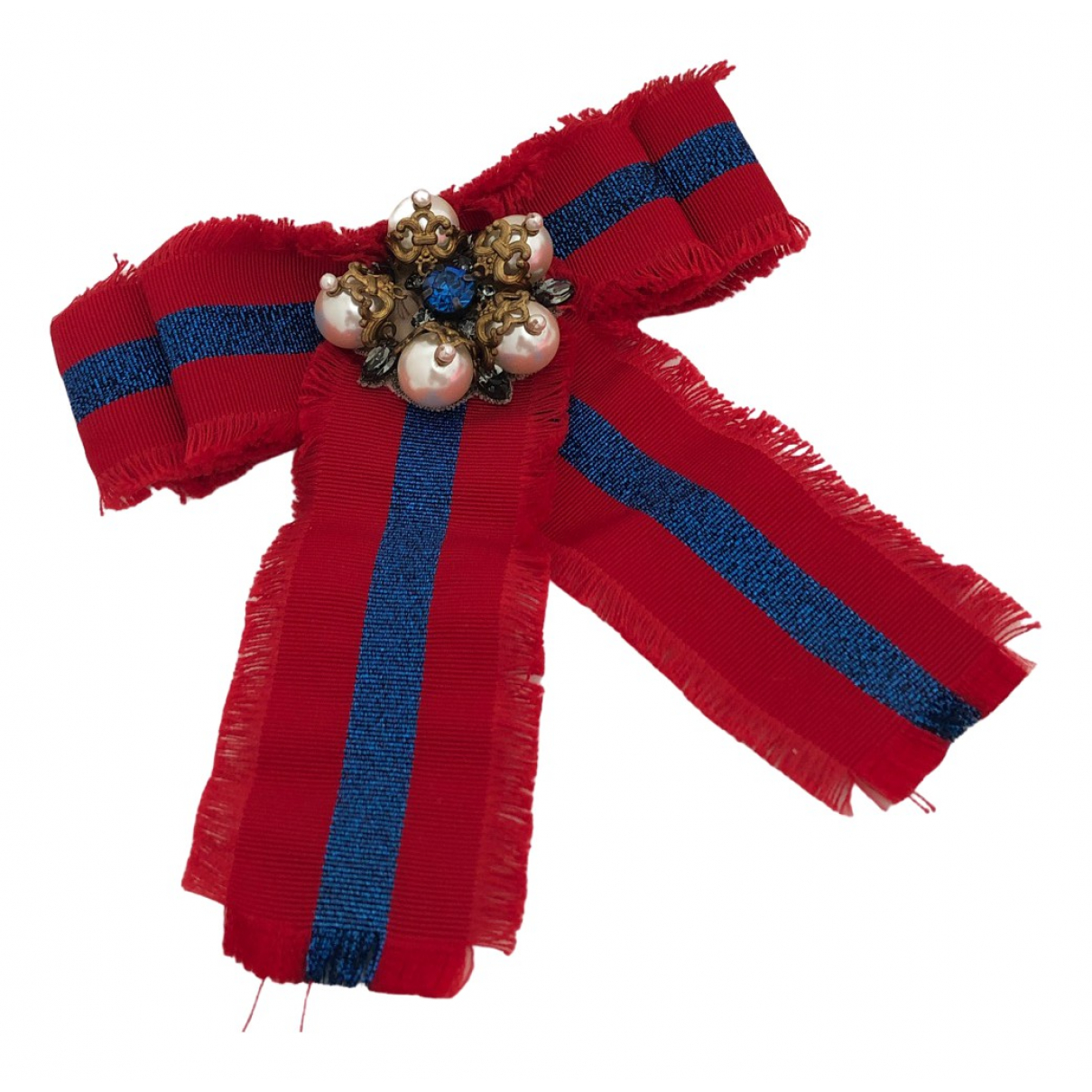 Gucci \N Red Cloth Pins & brooches for Women \N