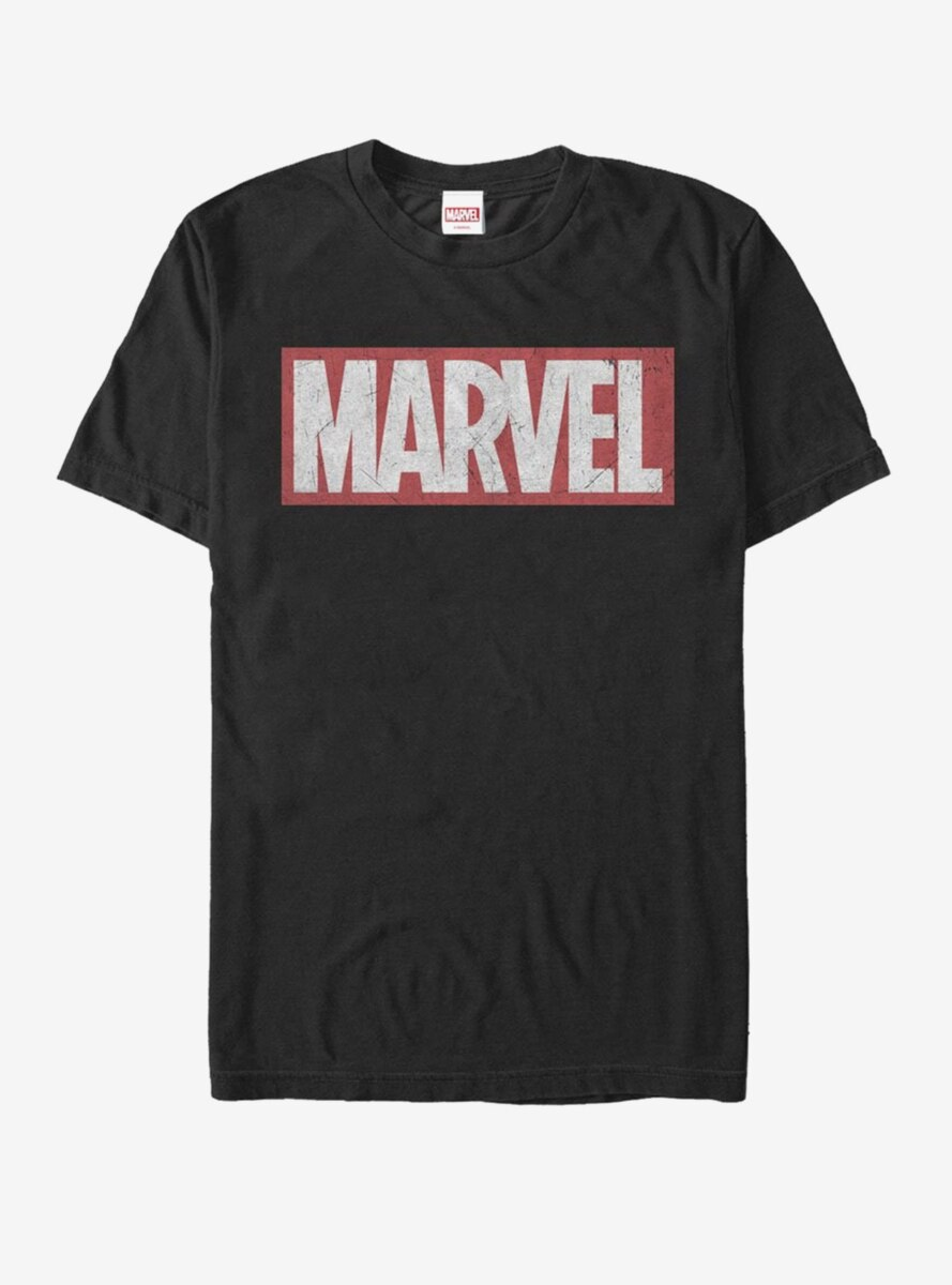 Marvel Classic Distressed Logo T-Shirt